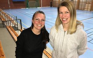 Gymnastiklärarna Helen Sundvisson och Therese Johansson hoppas att hälsoveckan ska bli både uppskattad och ett återkommande inslag under läsåret vid Fränstaskolan.