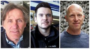 Tre av mäster Linds framgångsrika lokala lärjungar, från vänster; Mats Ohlsson, Mattias Ohlsson och Tony Croon.