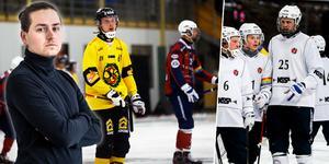 Bandysurrs Robin Mårtensson ser tillbaka på den allsvenska helgen som gick – och blickar även fram mot nästa omgång. Bild: Linda Mårtensson / Billy Hammer /