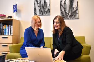 Norrtäljes biträdande kommundirektör Hanna Hellquist och tillförordnande kommundirektören Charlotta Tillbom har hämtat inspiration från andra kommuner när de har planerat kommande omstruktureringar, men också lyssnat på kommuninvånarnas önskemål.