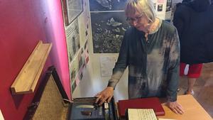 Inger Hurtig har bidragit med litteratur  om Herräng.