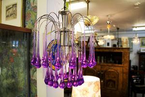 Murano-lampa som heter Teardrops.