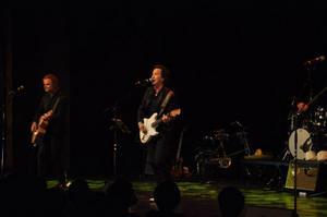 Partybandet Ständut Blakk firade 20 år genom att i lördags bjuda in till en längre föreställning på Storsjöteatern. På bild ser vi bandets grundare Markus Albertsson och frontfigur Roger Hansson.