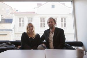 Sara Strömberg och Anders Nilsson.