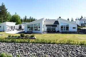 Fem rum har detta hus på Tallbacken. Foto: Tobias Nykänen.