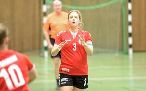 Sofie Persson blev med sina sex fullträffar bästa målskytt tillsammans med Hanna Fredriksson  matchen mot Hallsta.