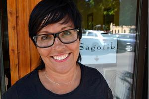Lotta Uvhage säljer nu en av sina tre frisörsalonger i centrala Sundsvall.