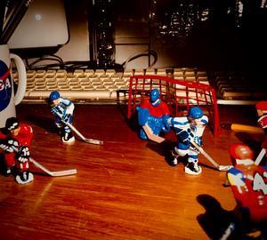 NIGHT GAME. #bordshockey #tänkom #vadvetman? Foto: Privat.
