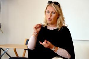 Lena Hallengren (S), Sveriges socialminister.