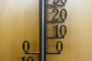 På onsdagen var temperaturen mellan 18 och 19 grader. Varmt, tyckte personalen.