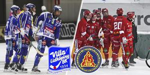 I samband med Villas ispremiär möts svenska mästarna Villa och LAIK, femma i allsvenskan den gånga säsongen.