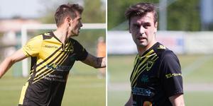 Södras vassa anfallsduo, Nemanja Plamenic och Rio Babovic, visade form och gjorde tre mål vardera i storsegern mot FC Västerås.