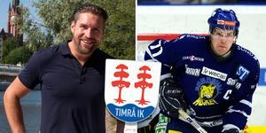 Den tidigare Sundsvall Hockey-kaptenen Martin Romö anställs som marknadschef i Timrå IK. Bild: Arkivbild.