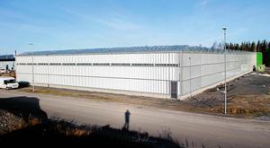 Den stora kretsloppsanläggningen på Saltvik i Härnösand är på 4000 kvadratmeter och Europas största kretsloppsodling..