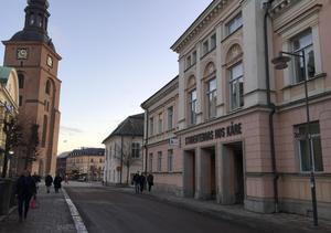 Gamla Stadshotellet, numera studentkårens hus.