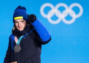 Skidskytten Sebastian Samuelsson. Bild: Jon Olav Nesvold/Bildbyrån.
