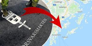 Den nya marinstaben invigs på Muskö den 30 september. Foto: Foto: Janerik Henriksson/TT