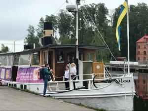 M/S Moa som utgår från Söderhamn.