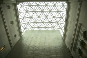De stora stålkonstruktionerna till de nya taken på Nationalmuseum har tillverkats av Sjölins smide i Hudiksvall.