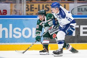Nästjumbon Tingsryd besegrade Leksand med 5-3 under onsdagen och är nu tolva i tabellen, bara tre poäng bakom LIF. Foto: Daniel Eriksson/Bildbyrån (arkiv)