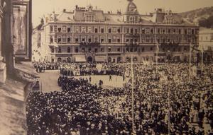 Den 21 augusti 1921 firade Sundsvall 300 år.
