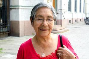 Nelly Barillas, 78, pensionär, Skönsmon: