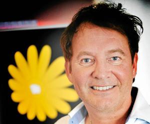 Joakim Granberg är ledare för Realistpartiet. Foto: Christina Hjalmarsson