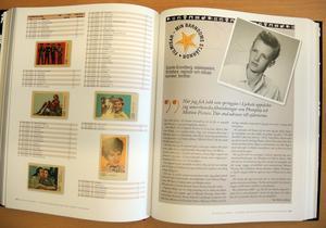 I boken har olika kändisar skrivit om deras minnen från filmisarnas tid.