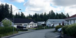 Villabebyggelse i Torvalla längs Timotejvägen, nordväst om det område som nu kan ge plats för fler friliggande småhus.