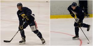 Carl Wäng var aktuell för NHL-draften i somras – och William Malmia vann poängligan för backar i J18-slutspelet. Nu får de chansen att slå sig in i SSK:s A-trupp.