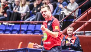 Anton Hjort vann båda sina matcher mot Rekord.