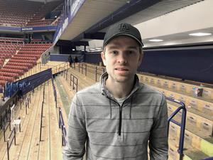 Spencer Abbott är redo för match på torsdag mot Oskarshamn efter ha fått vila i två matcher för ljumskproblem.