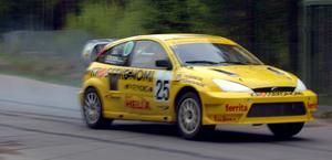 Tony Croons Ford Focus, den sista rallycrossbilen han tävlade med.