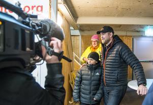 Lokalmedia i form av SVT, Magazin24 och såklart Arboga Tidning var på plats och bevakade.