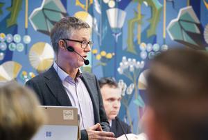 Göran Wigert berättade att förskolan, grundskolan och gymnasiet gjorde underskott mot budget 2018.