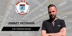 Jimmy Hedman är ny huvudtränare för Per-Ols. Foto: Per-Ols IBF