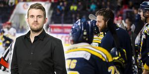 Andreas Hanson om SSK:s förlust mot BIK Karlskoga och klubbens tuffa situation. Foto: Bildbyrån