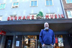 Stefan Nilsson, ägare av Skandinaviens äldsta skivbutik.