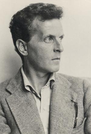 Ludwig Wittgenstein 1930. Foto: Moriz Nähr