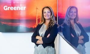 Ludvika är inte okänd mark för nya chefen för ABB Power Grids Sweden AB. 2015 – 2018 var Jenny Larsson styrelseordförande för lokala energibolaget VB Energi. Foto: Jonas Bilberg/ABB