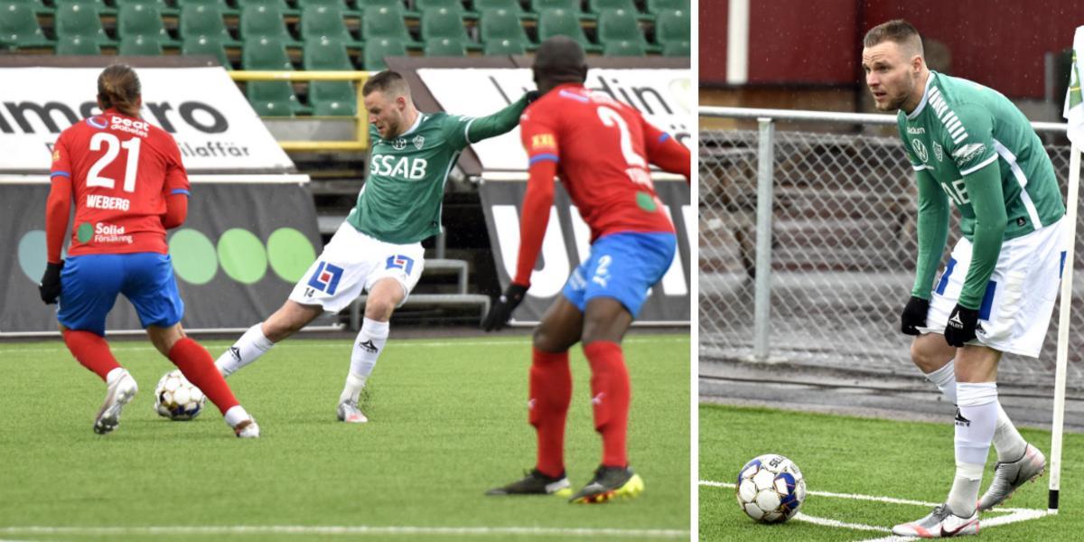 """Tillbaka från skadekaoset – Söderberg efter inhoppet mot Helsingborg: """"Känner mig redo för en startplats"""""""