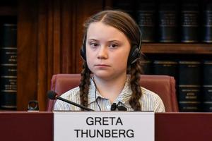 Greta Thunberg har snabbt blivit en internationell klimatförkämpe . Foto: Alessandro Di Meo/ANSA via AP