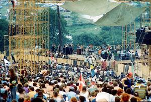 Woodstockfestivalen i Bethel, New York, 1969. AP Photo)