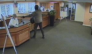 Bankrån är ett exempel på brott som kan bli aktuellt som straffbart i samband med förberedelser.