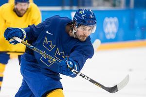 Johan Fransson spelade OS för Sverige 2018, och blir kanske den mest värdefulle spelaren i Leksand nästa säsong. Foto: Petter Arvidson / Bildbyrån