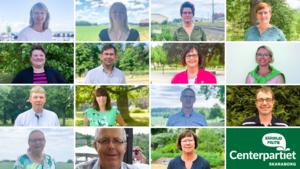 C-företrädare från de 15 kommunerna i Skaraborg. Foto: Centerpartiet Skaraborg