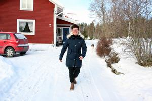 Lena Jensen har alltid levt att aktivt liv med mycket träning. I Böle i Svärdsjö finns möjlighet till friluftsliv.