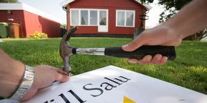 Foto: Fredrik Sandberg / SCANPIX. Huset såldes, men pengarna hamnade fel.