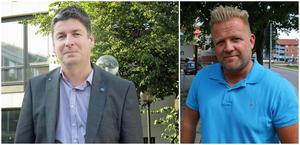 Oppositionsråden Per Kihlgren (SD) och Jonny Bratberg (M) lade ned sina röster under det senaste kommunstyrelsesammanträdet. Foto: Roger Wallenius/Simon Larsson