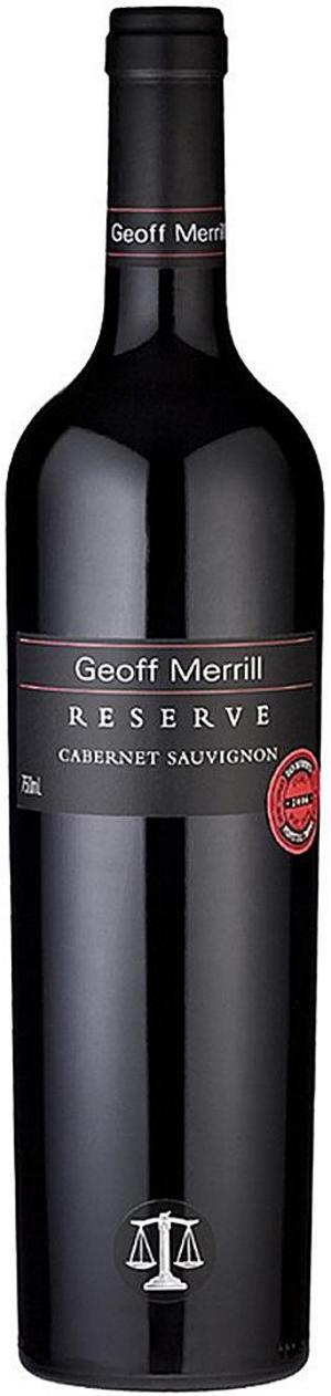 Geoff Merrill Reserve Cabernet Sauvignon 2010.